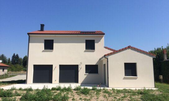 Maison contemporaine à Lezoux